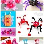 Valentines Love Bug Crafts for Kids