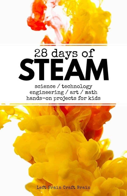http://leftbraincraftbrain.com/2017/01/31/28-days-of-steam-projects-for-kids/