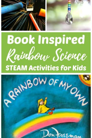 Book Inspired Rainbow Science STEAM Activities for Kids