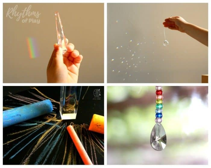 rainbow STEAM activities for kids
