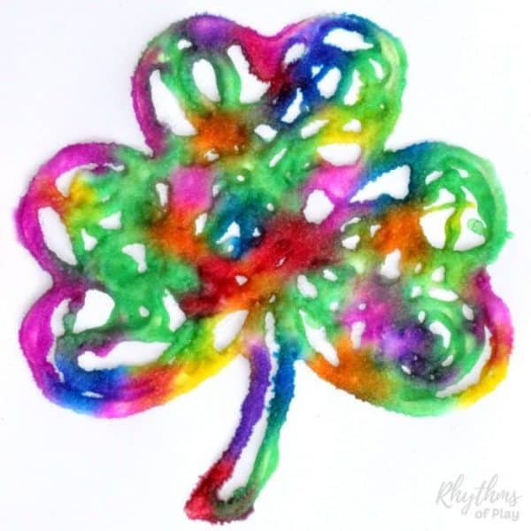 Shamrock And Four Leaf Clover Art And Craft Ideas Rhythms Of Play