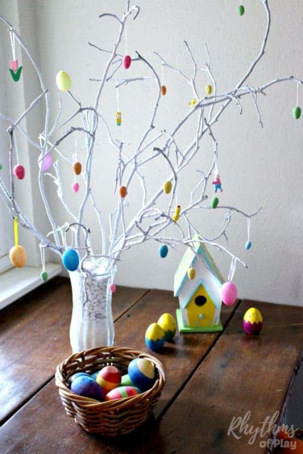 German Easter Egg Tree Tradition