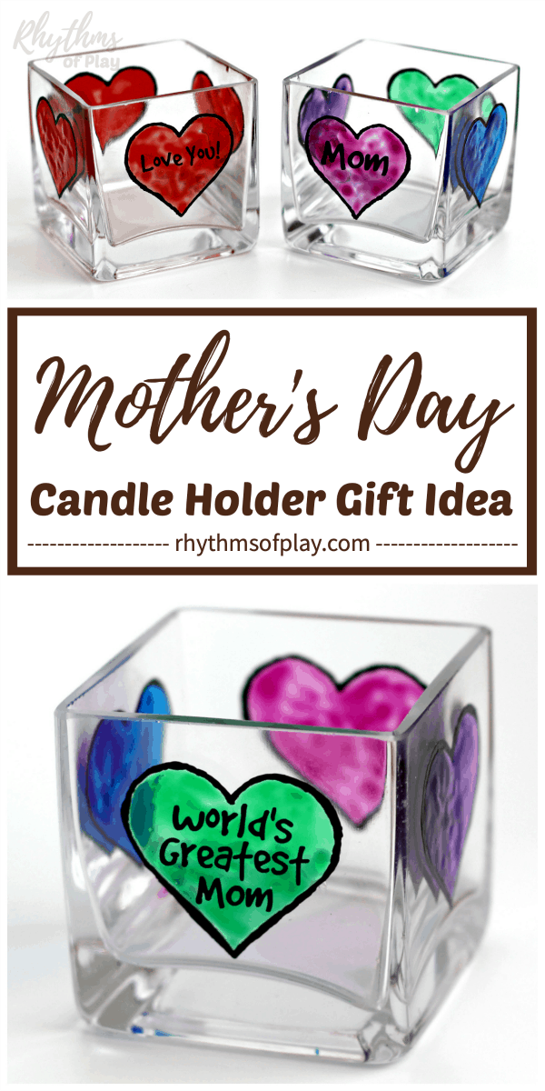 personalized Mother's day gift idea for mom or grandma.