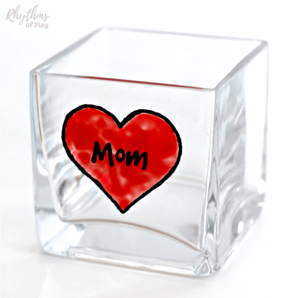 Mother's day gift ideas - personalized candle holders