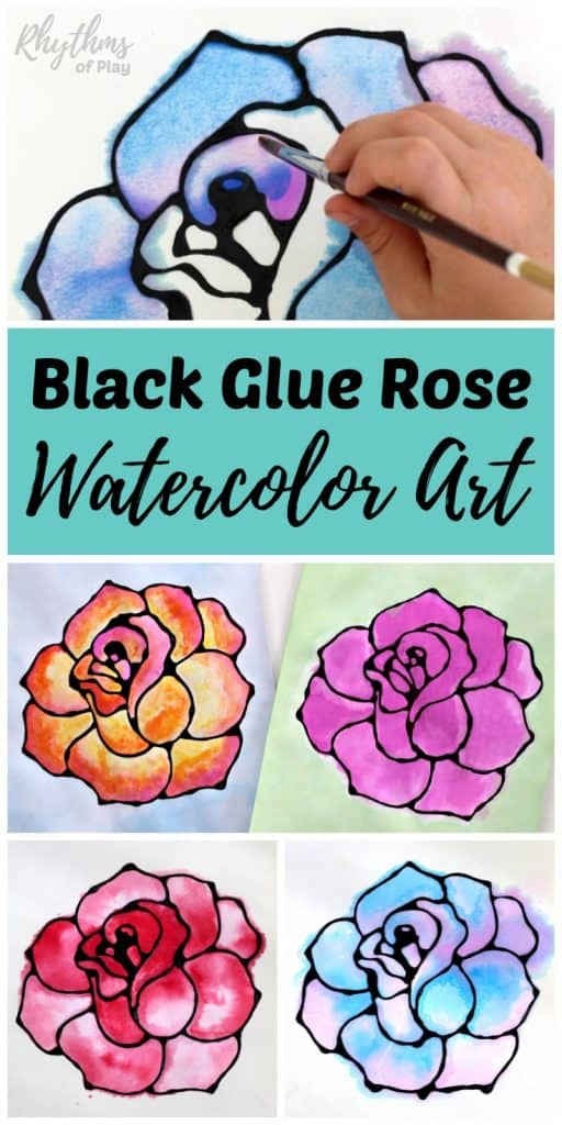 rose art project idea