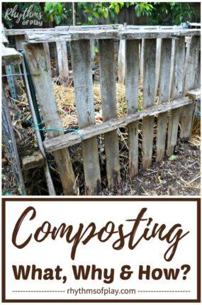 DIY pallet compost bin backyard composting at home