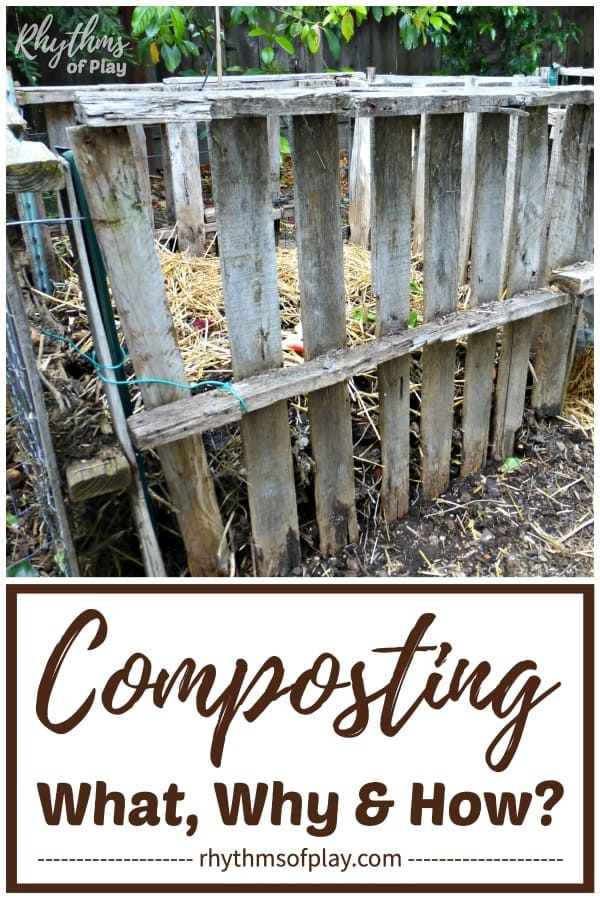 DIY pallet compost bin backyard composting at home