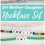 DIY Mother-Daughter Necklace Set Gift Idea