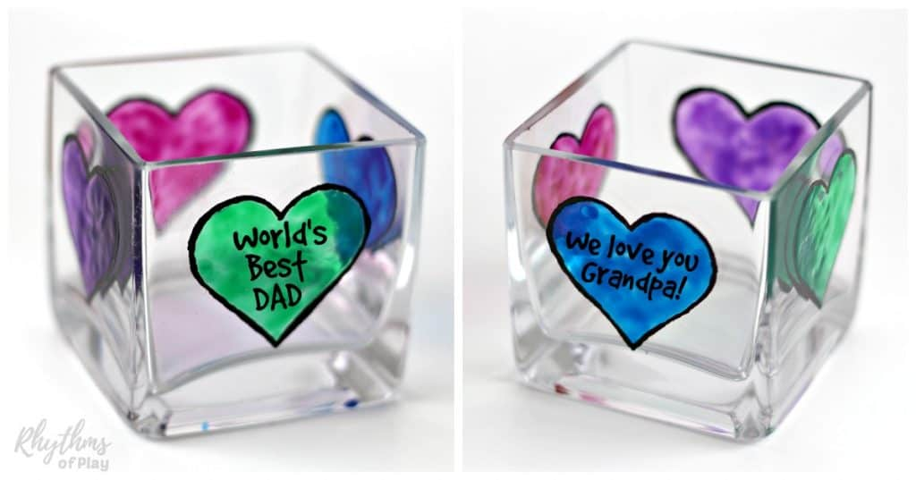Diy Fathers Day Personalized Candle Holder Gift Idea Rhythms Of Play