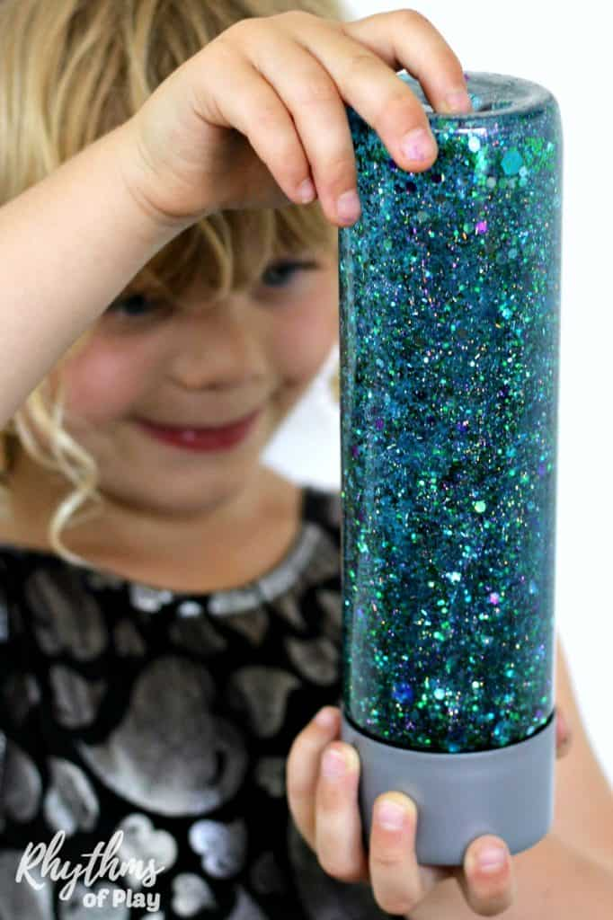 mermaid sensory bottle
