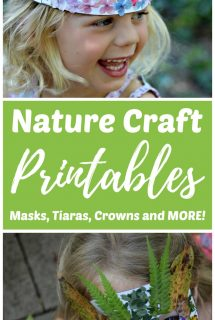 Nature Craft Printables: Masks Tiaras Crowns and More!