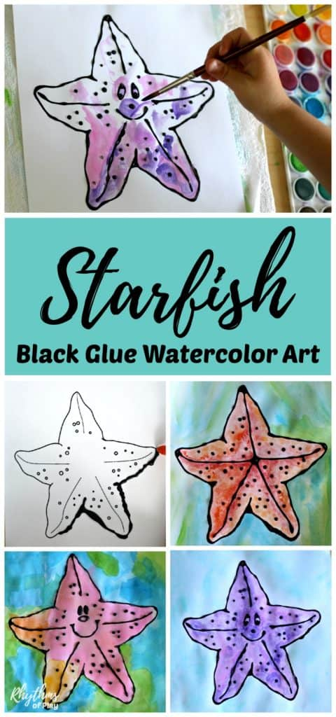 starfish art project for kids
