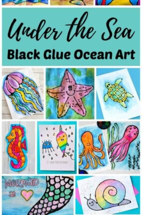 under the sea ocean art projects