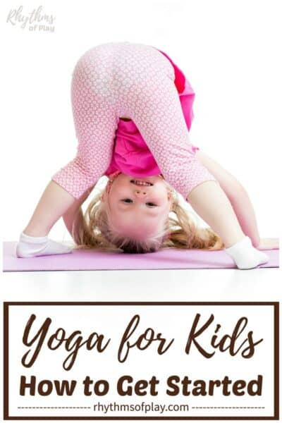 yoga for kids - toddler yoga downward dog