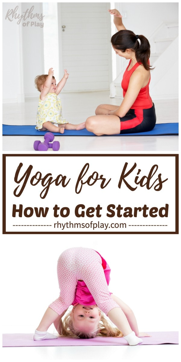 yoga for kids - picture of mom and baby yoga and toddler yoga
