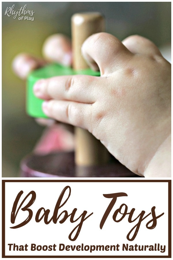 Best natural baby toys for infants to toddlers