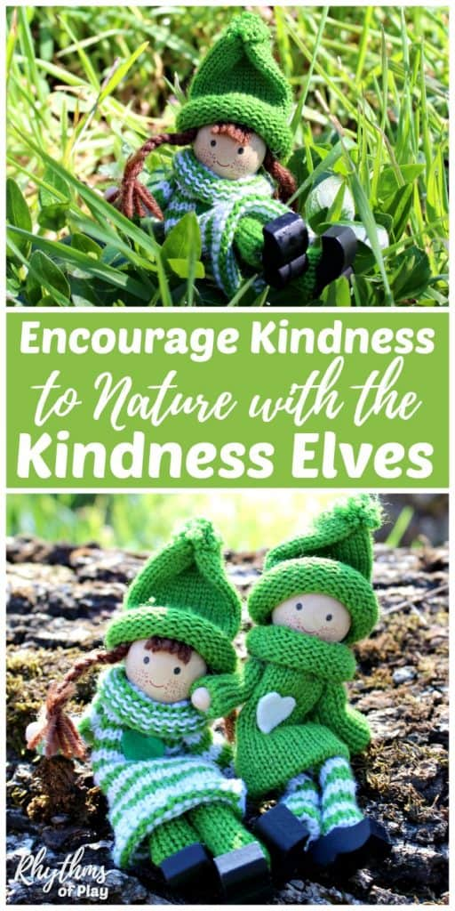 how to encourage kindness to nature; tips and ideas to share with children.