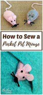 How to Sew a Pocket Pet Mouse Softie