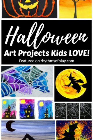 Halloween Art Projects Kids Love!