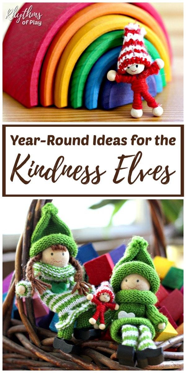 Encourage acts of kindness with the kindness elves for Christmas and year-round fun!