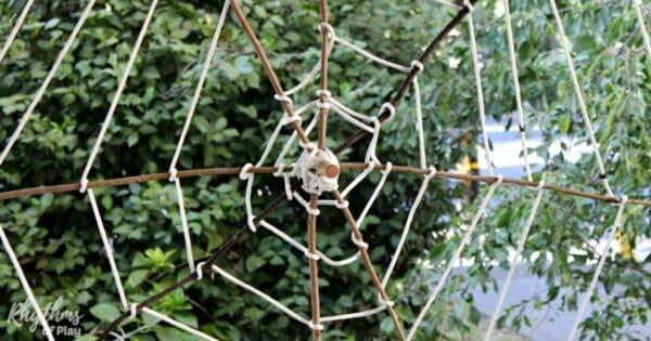 Giant Spider Web Decoration Rhythms Of Play