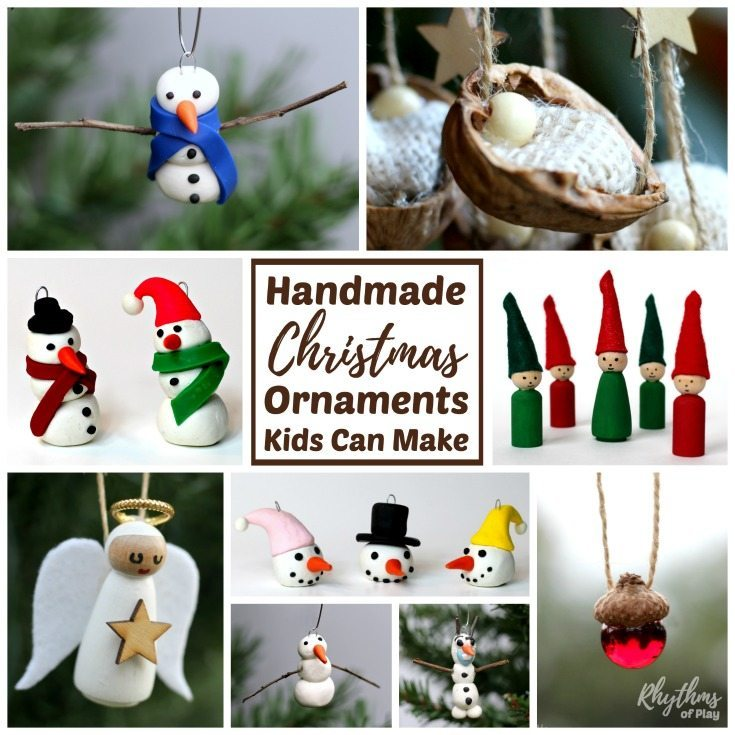 Making Christmas ornaments is a great way to connect with the kids and bring the whole family together during the holidays. There is nothing better than decorating the tree with gorgeous handmade ornaments you have made with the kids!