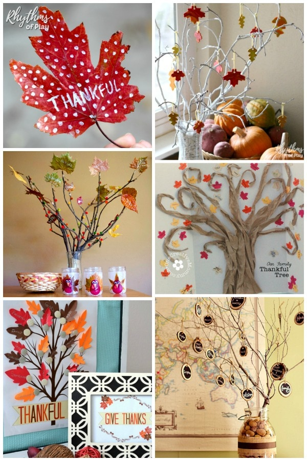 Thankful trees thanksgiving tradition for families and classrooms
