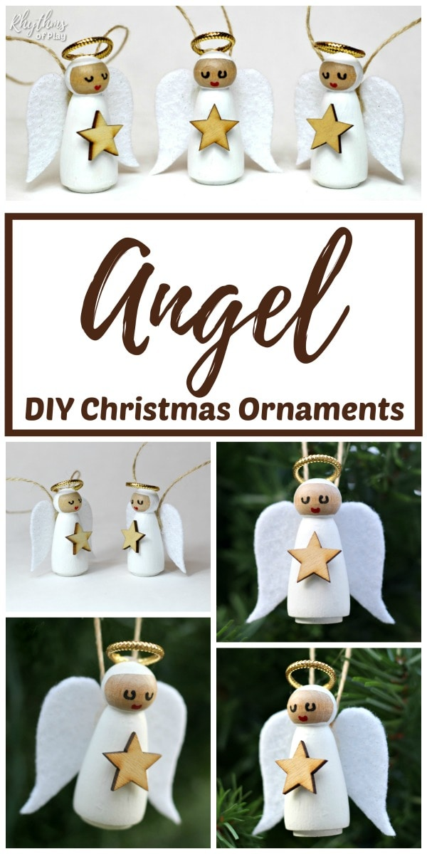 DIY Angel Ornaments - Decoration for Christmas