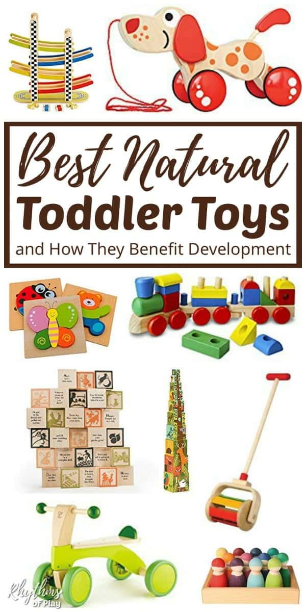 Best Natural Educational Toys For Toddlers