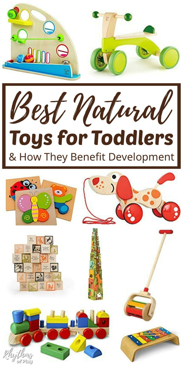 Natural Waldorf and Montessori educational toys for toddlers