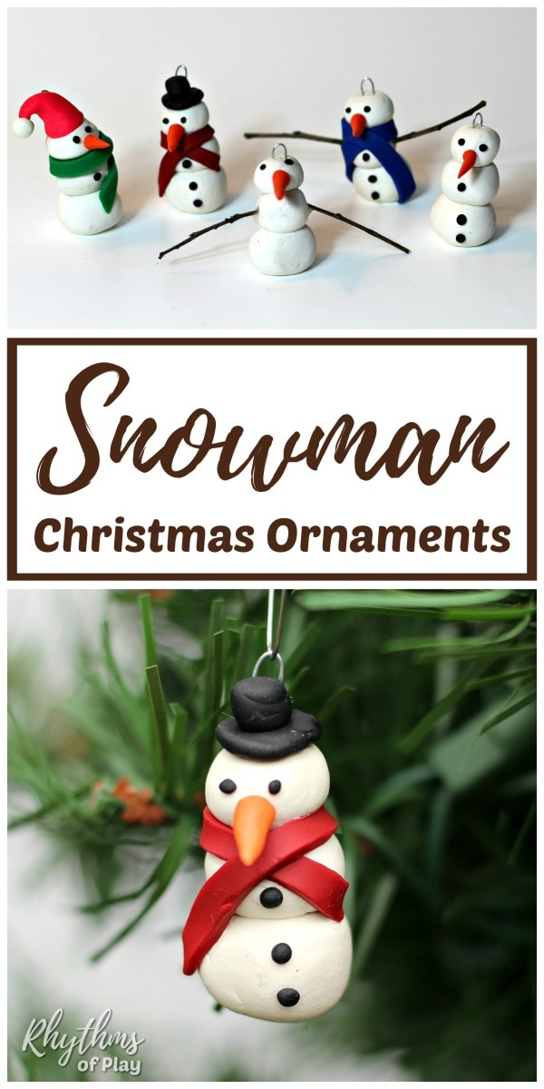 How to make snowman ornament Christmas decorations