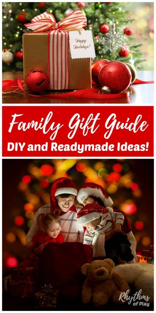 Gift guide with readymade and homemade gift ideas