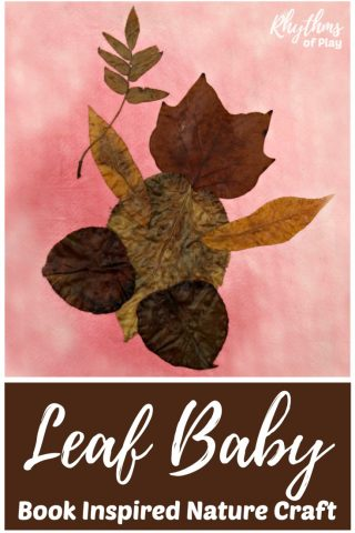 Leaf Baby Book Inspired Nature Craft