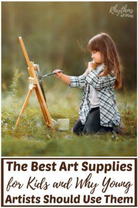 Children's art materials