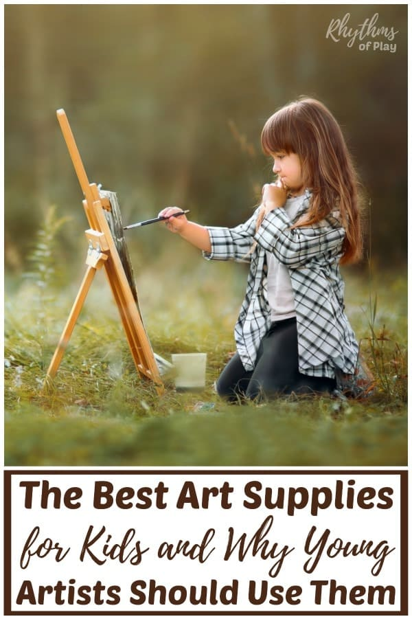 Children's art materials