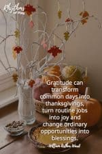 How to Make a Thankful Tree with Clay Gratitude Leaves