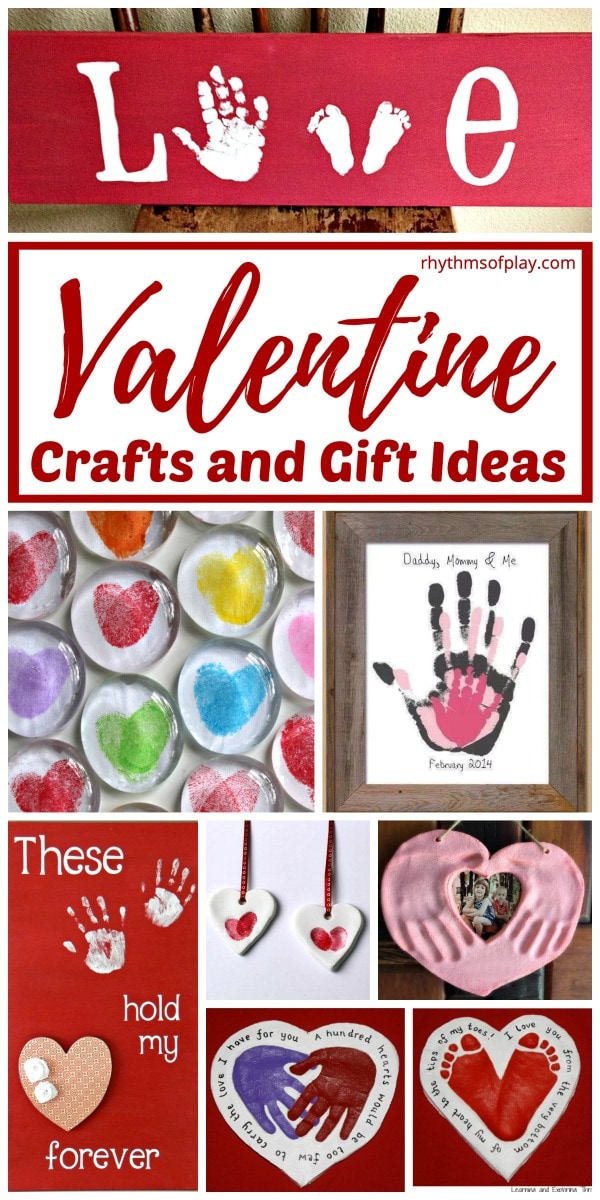 Valentine S Day Crafts And Homemade Gift Ideas Rhythms Of Play
