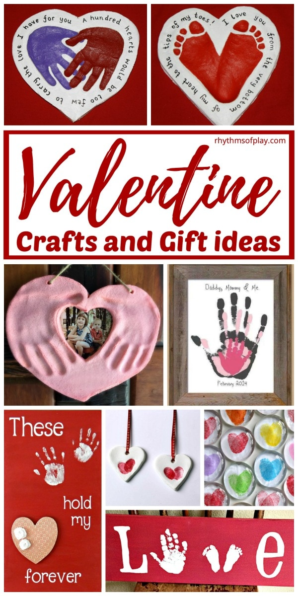 Valentines day gifts and crafts