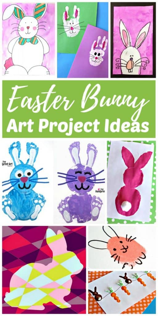Adorable Easter Bunny Art Project Ideas