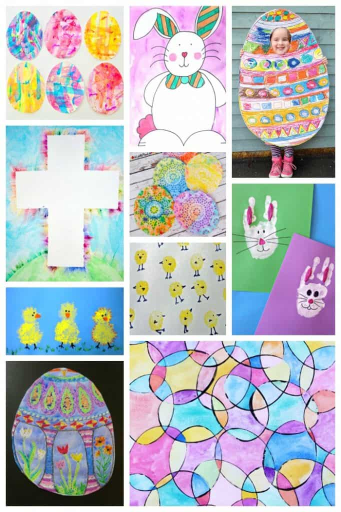 Easy Easter Art Projects Kids Love Rhythms Of Play