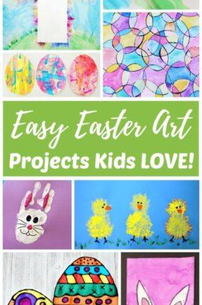 Easy Easter Art Ideas for Kids