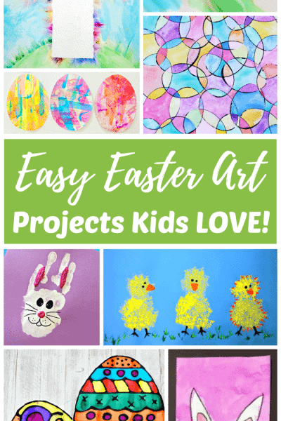 Easy Easter Art Ideas for Kids