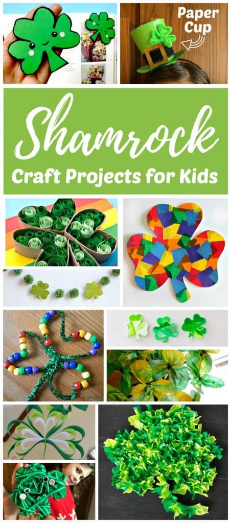 Shamrock craft projects for kids