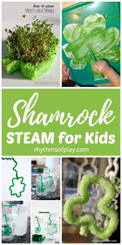 shamrock steam projects for kids