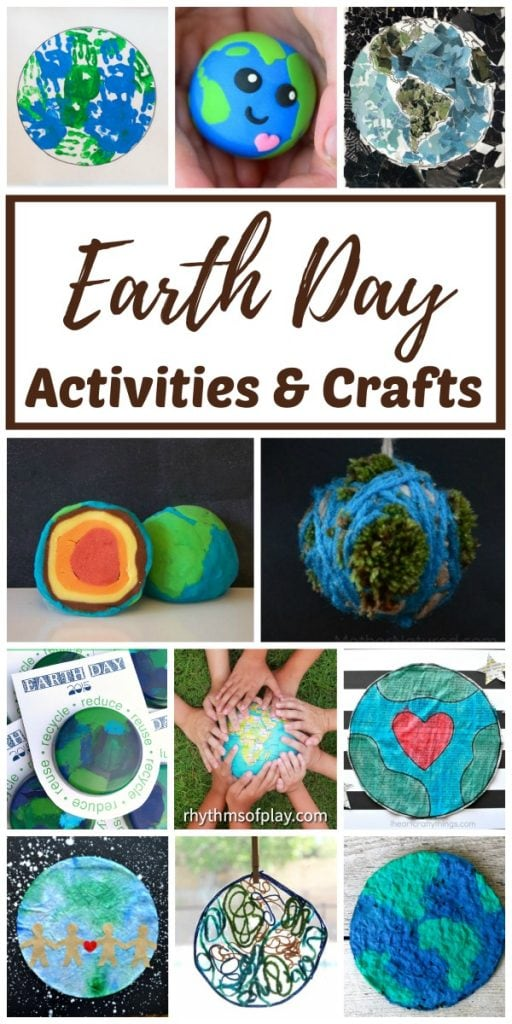 Earth Day Crafts and Activities for Kids and Adults
