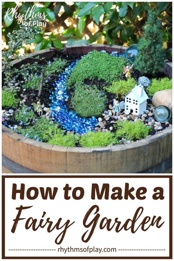 how to start your own DIY fairy garden