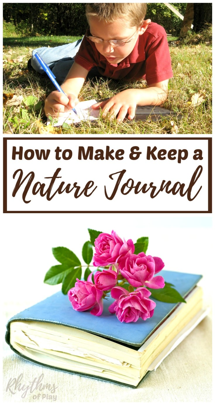 How to make a nature journal or notebook
