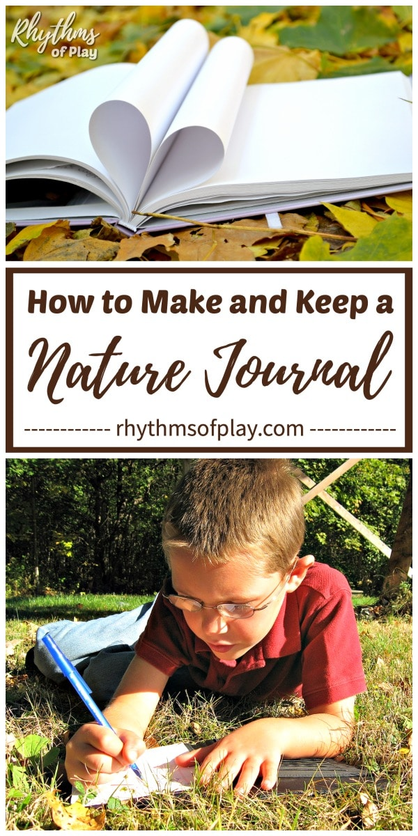 nature journal ideas for nature study for kids and adults