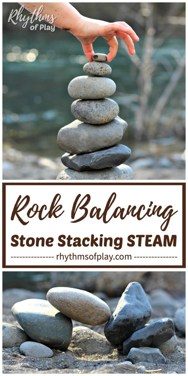 rock balancing art - stone stacking