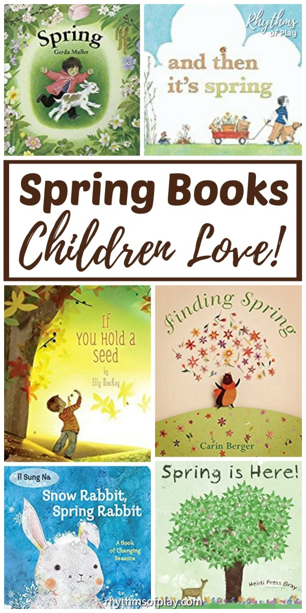 Spring books for children